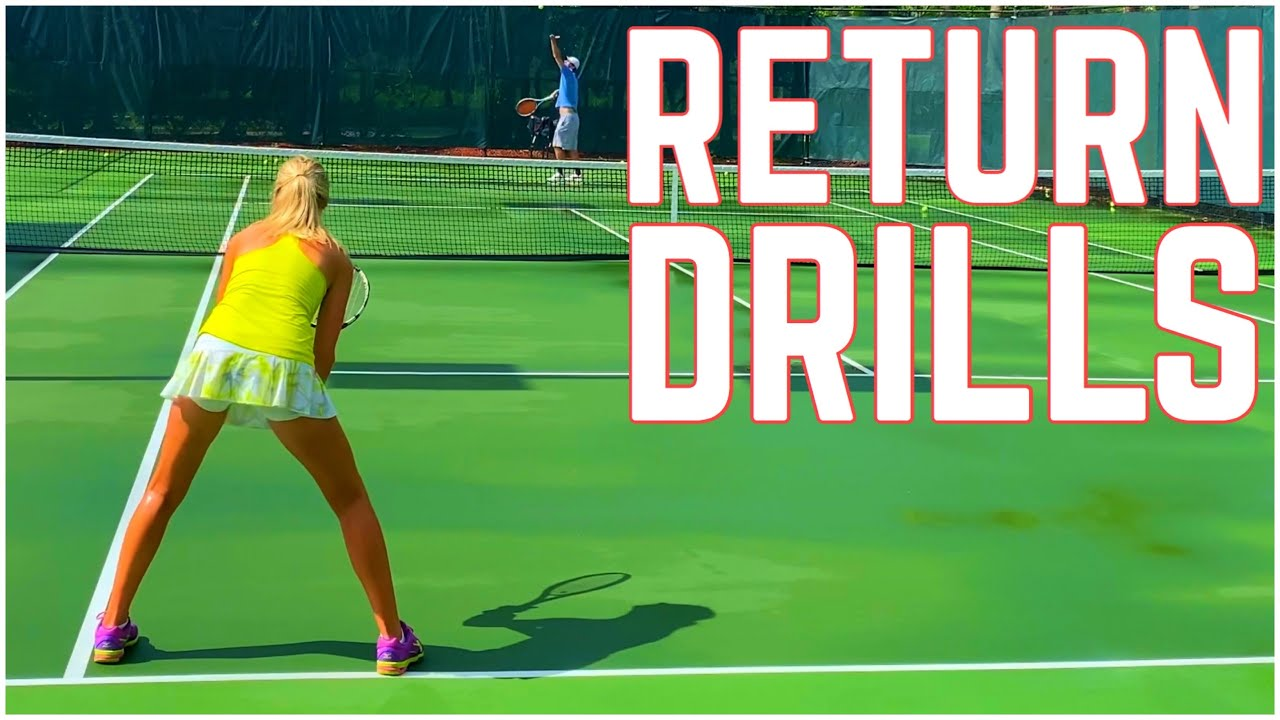 Return of Serve Tennis Drills | Improve Your Reaction Time