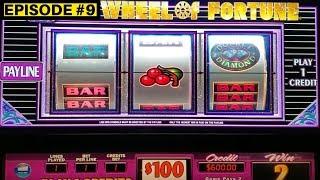 $100 Wheel Of Fortune Slot Machine & High Limit Monopoly Slot Machine Bonuses |Season 8 | Episode #9