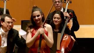 Bach: Concierto para violín nº 2 BWV 1042 - Alexandra Soumm - Dima Slobodeniouk - OSG