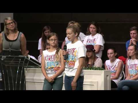 Extreme Youth Camp Testimonies