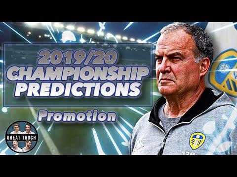 Who Will Be CHAMPIONS? 🏆2019/20 EFL Championship Season Predictions