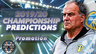 Who Will Be CHAMPIONS? 🏆2019/20 EFL Championship Season Predictions