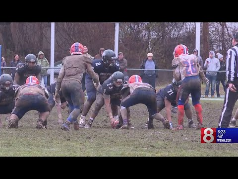 Bloomfield football edges out Ansonia in Class S semi-finals