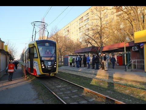 Мэр Одессы проинспектировал работу городского транспорта в условиях ЧС
