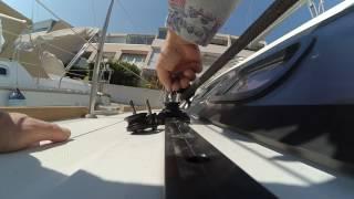Double seaves for Headsail Harken Midrange Beneteau Oceanis 37