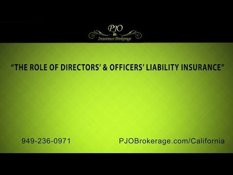 """The Role of Directors' & Officers' Liability Insurance"" | PJO Insurance Brokerage"