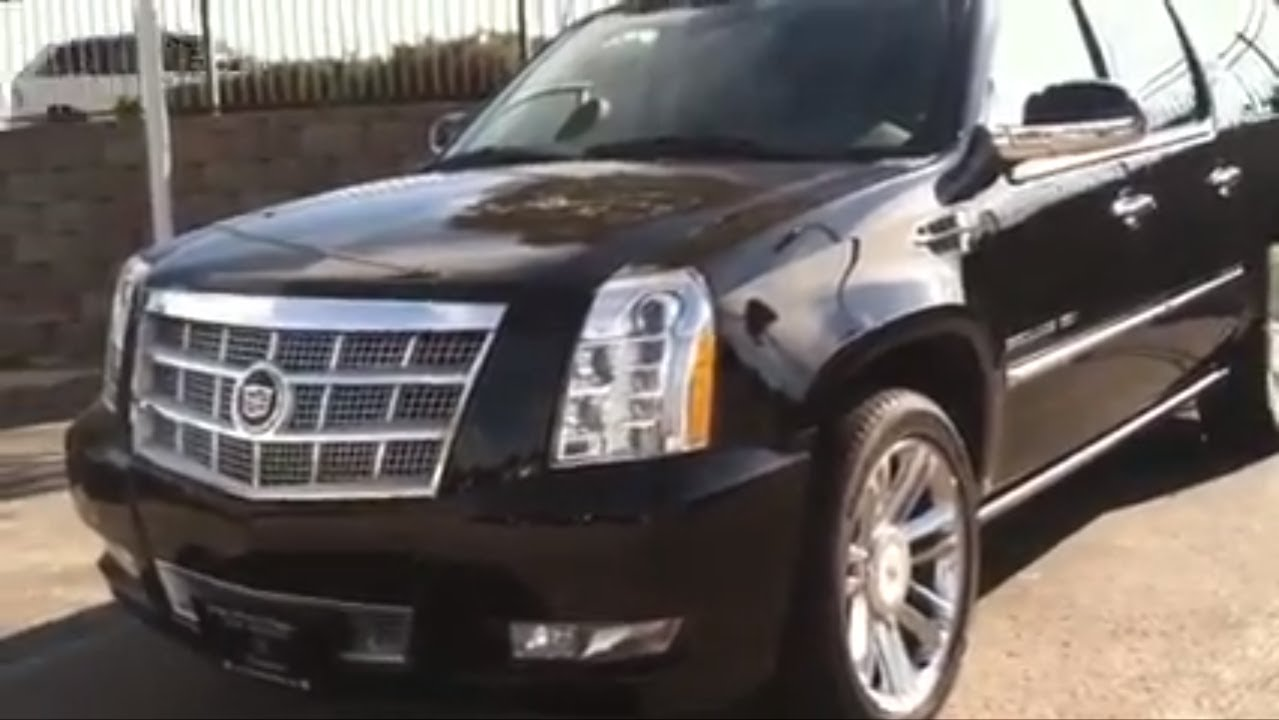 Gmc Terrain Denali >> 2013 Cadillac Escalade ESV Platinum (In Depth Tour and ...