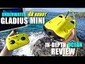2019 Underwater Drone GLADIUS Mini 4K ROV Review - Part 3 -  [In-Depth OCEAN TEST, Pros & Cons]