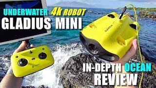 2019 Underwater Drone GLADIUS Mini 4K ROV Review - Part 3 -  [In-Depth OCEAN TEST, Pros & Cons]