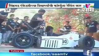 Watch : Sinhgad Engineering Academy students make an award winning Formula Racing Car