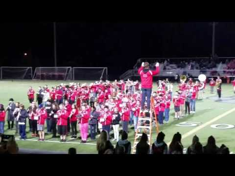 Mount Si High School Band, plus 8th grade bands from Twin Falls and Chief Kanim Middle Schools