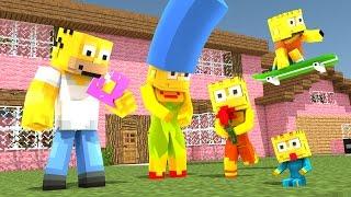 Minecraft - OS SIMPSONS ‹ ESCOLHA A PORTA › MINI-GAME (LUCKY BLOCK)