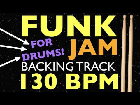 Funk Backing Track For Drums