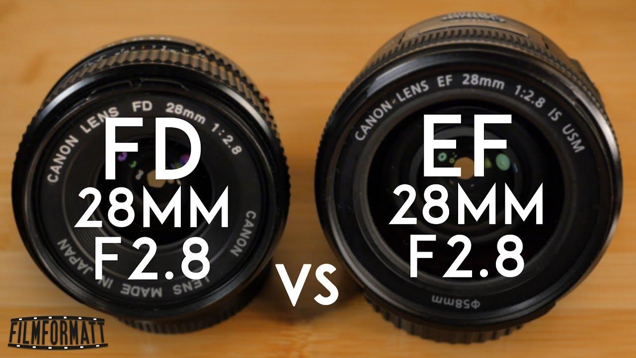 Canon Lens FD 28mm 1:2.8