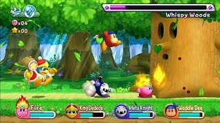 Kirby's Return to Dream Land Nintendo Wii Adventure Kids Platform Games
