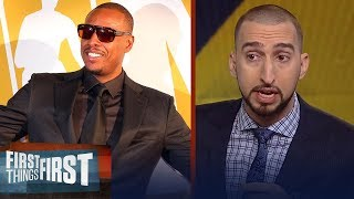 Paul Pierce has Nick Wright fired up over 'The Truth's' jersey retirement | FIRST THINGS FIRST