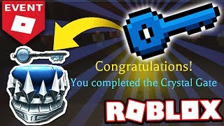 HOW TO GET THE CRYSTAL KEY WALKTHROUGH & TUTORIAL! (Roblox Ready Player One)