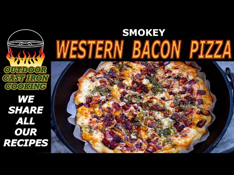 How To Make Smokey Western Bacon Pizza