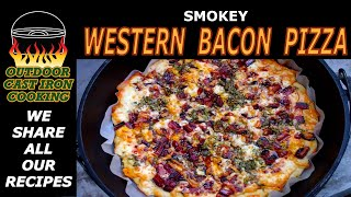 Smokey Western Bacon Pizza