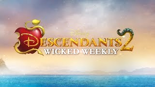 Dove Cameron Lends an Evil Hand 😈 💪🏼 | Episode 1 | Descendants 2 Wicked Weekly
