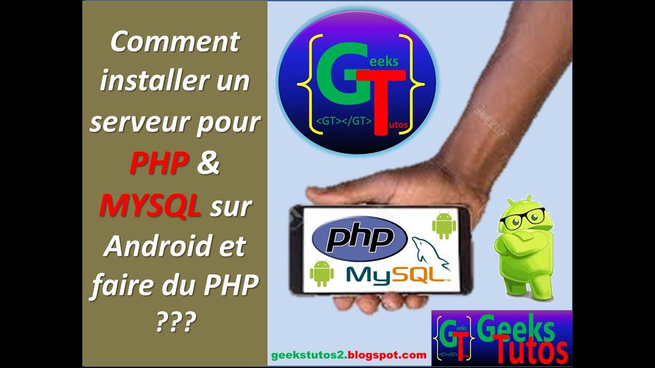 COMMENT FAIRE DU PHP SUR ANDROID ??? (KickWeb Server PHP