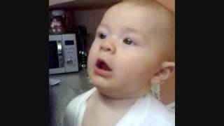 Cute Baby Upset (FUNNY)