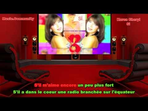 Karaoke - Karen Cheryl - Si (French 1980)