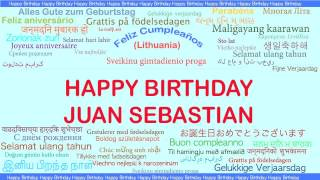 JuanSebastian   Languages Idiomas - Happy Birthday