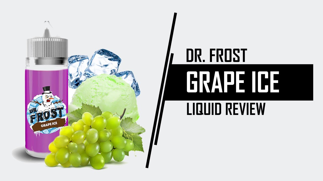 Dr Frost Grape Ice Watermelon Liquid Review Dampflion Vaporizer Frosty Juice