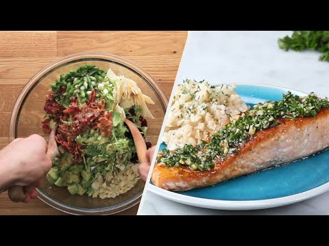 A Three-Course Holiday Dinner Menu You Can Make In 30 Minutes • Tasty