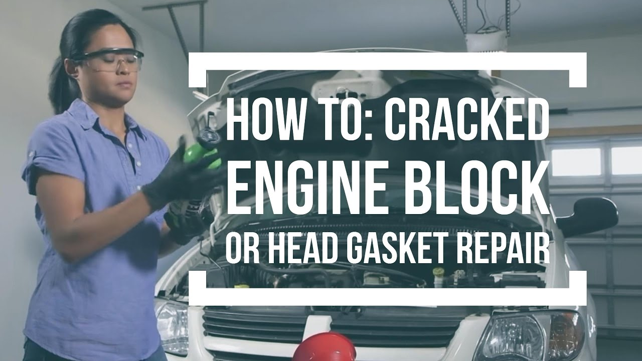 How To Repair A Cracked Engine Block Or Head Gasket With Kw 2005 Kia Sorento Coolant Fiberlock