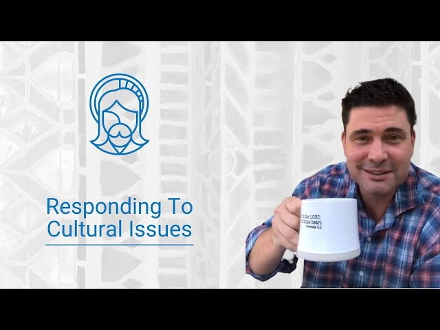 How did Jesus respond to cultural issues?