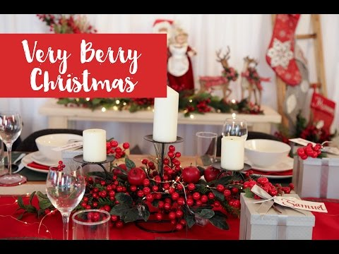 Very Berry Christmas Decorating Inspirations
