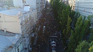 Марш «Ні капітуляції» з висоти