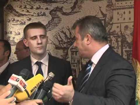 Predsjednik Vlade Igor Lukšić boravio u radnoj posjeti opštini Ulcinj