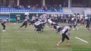 Матч чемпионата России по американскому футболу: «SPB GRIFFINS» - «MOSCOW UNITED»