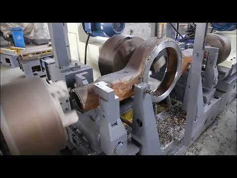 Three face milling for Axle