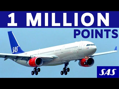 SAS EuroBonus How To Earn 1 MILLION Points | 2020 Strategy | Scandinavian Airlines