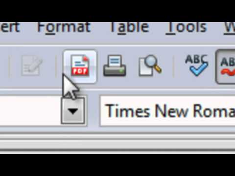 How to create a PDF File