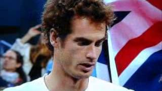 Andy Murray THE US OPEN CHAMPION