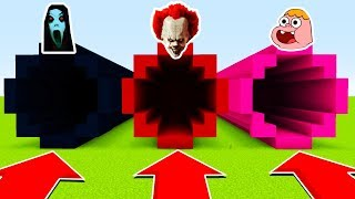 DO NOT CHOOSE THE WRONG TUNNEL : (SLENDRINA, PENNYWISE, CLARENCE) (Ps3/Xbox360/PS4/XboxOne/PE/MCPE)