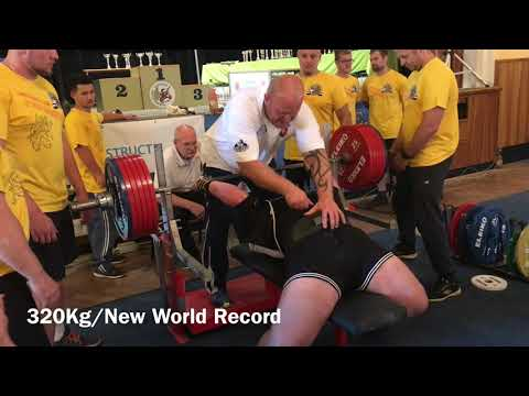 16-Year-Old Janik Velgos Benches 340kg for an Unofficial