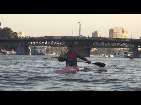 الكانوي والكياك رياضة تمارسها وخروجة في النيل