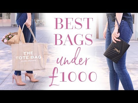 THE BEST LUXURY BAGS UNDER £1000! | AD