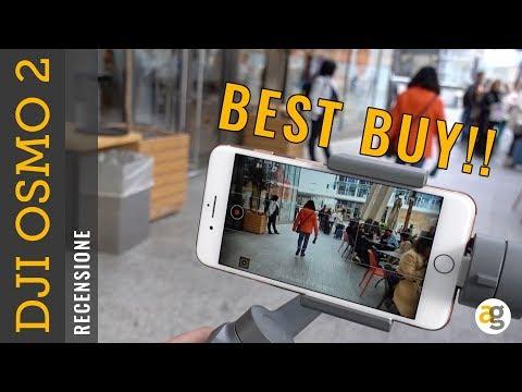 VIDEO PROFESSIONALI con 149 euro. Recensione DJI OSMO Mobile 2