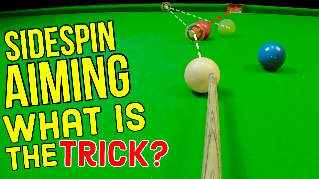 Download Aiming With Sidespin In Snooker What Is The Trick?