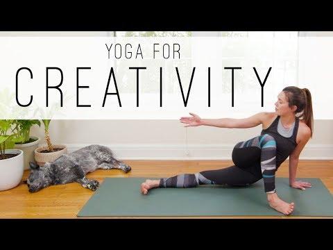 Yoga For Creativity     Yoga With Adriene thumbnail