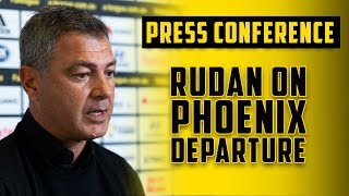 PRESS CONFERENCE | Mark Rudan On Departing Wellington Phoenix At Seasons End