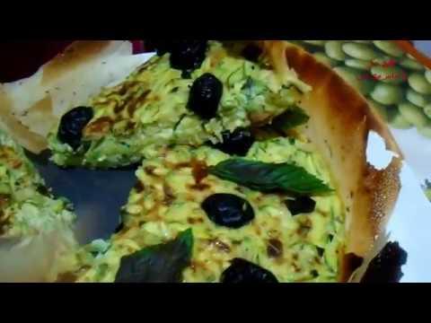 اكلات-صيفية-صحية-كيش-يوناني-اكتشفوه-الان💜-quiche-à-la-grecque💜
