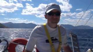 Круиз на яхте по Средиземному мору в Греции - Адреналин отрывается под парусами!(Круиз на яхте островами Греции http://www.adrenalin-ua.com/ru/tours-a-travel/sea/sea-abroad в сентябре 2013. Отличные повод провести..., 2013-10-07T11:27:21.000Z)